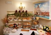 Hotel Mercurio - petit déjeuner au buffet
